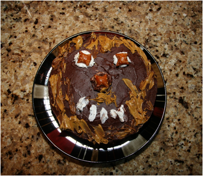 a birthday cake for mommy chewbacca of indy