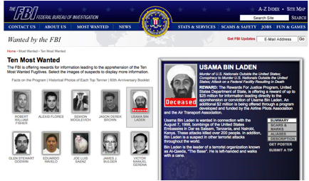 Description: https://upload.wikimedia.org/wikipedia/commons/e/e8/Osama_Bin_Laden_marked_deceased_on_FBI_Ten_Most_Wanted_List_May_3_2011.jpg