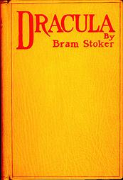 First edition cover of  Dracula