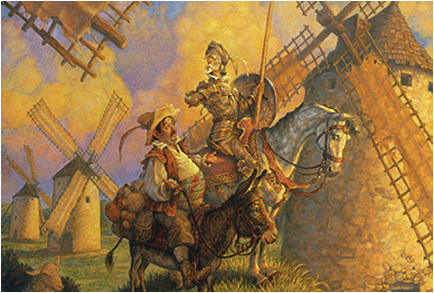 don quixote essay about created reality The encounters between the ordinary world and don quixote are encounters between the world of reality and that of illusion - essay example.