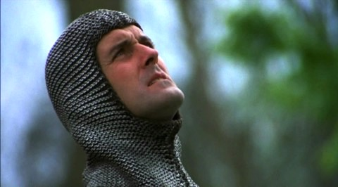 This is Cleese in Monty Python and the Holy Grail in 1975.