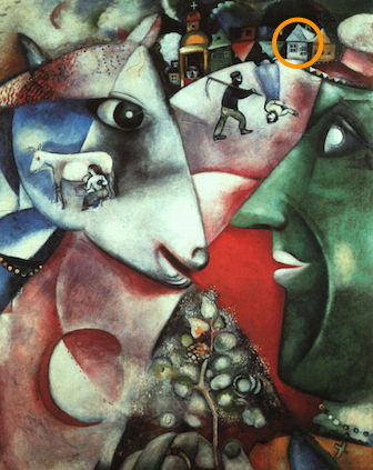 Chagall's I and The Village