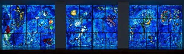 Chagall's windows at The Art Institute of Chicago