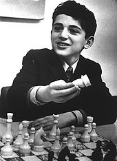 This is Kasparov playing at the age of 11.