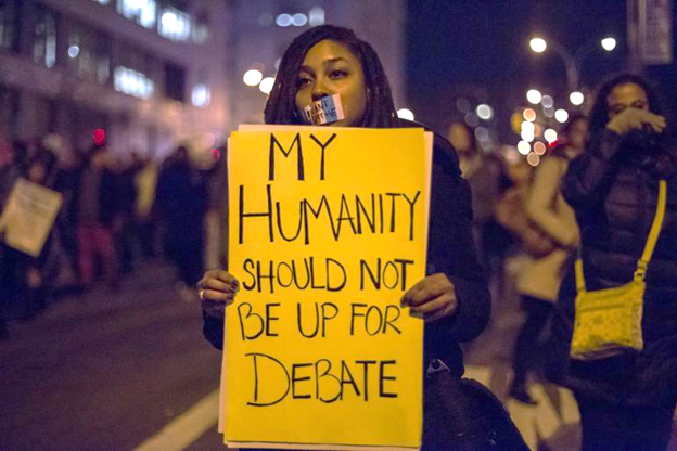 Your humanity isn't debated.