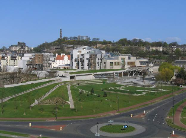 Description: Edinburgh Scottish Parliament