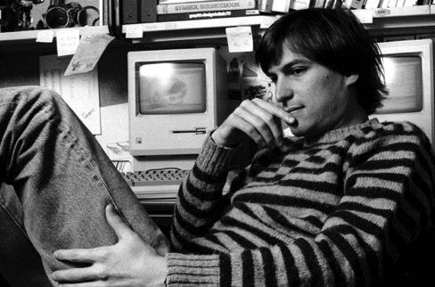 Steve Jobs thinking independently