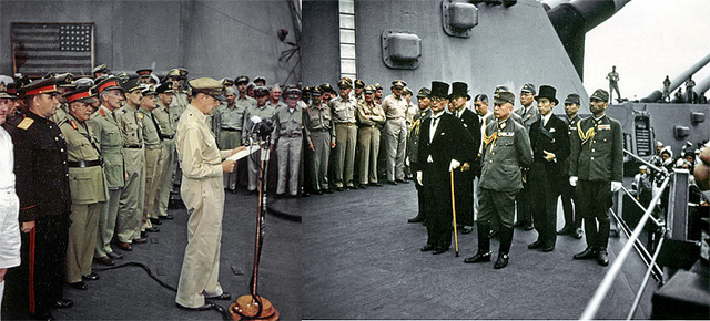 Surrender Of Japan And The Effects Among