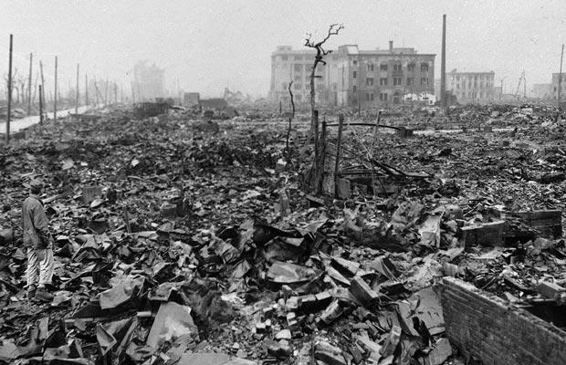 In this 1945 file  photo, twisted metal and rubble marks what once was Hiroshima, Japan's most industrialised city, seen some time after the atom bomb was dropped