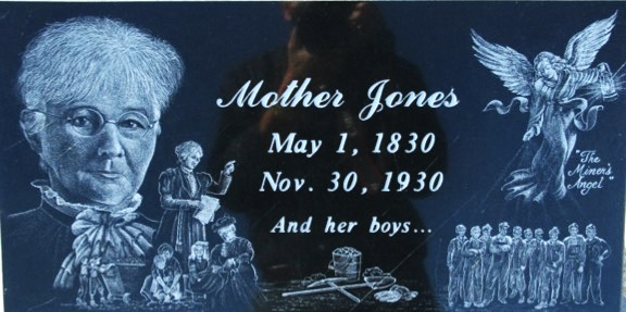 Mother Jones and her boys